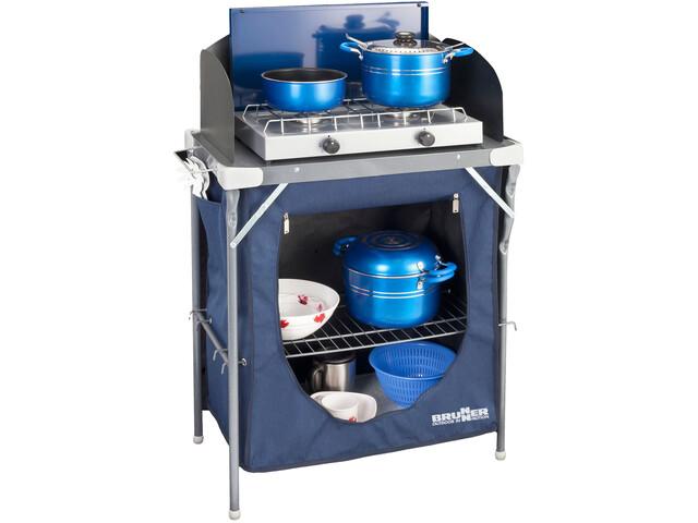 Brunner Talisman Mobile per cucina da campeggio, blue